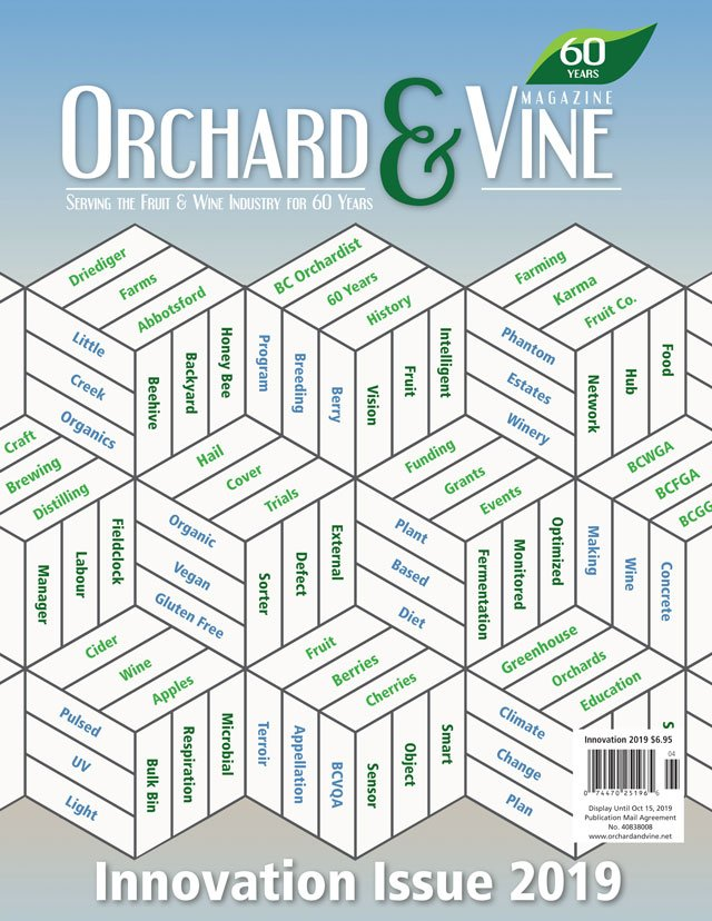 Orchard & Vine Innovation 2019