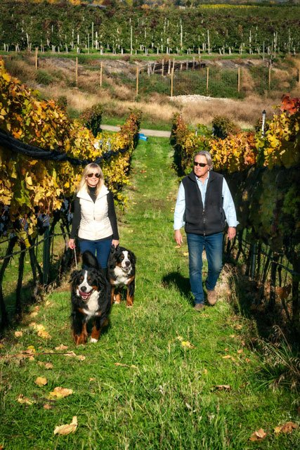 Dawn & Doug Reimer of Mirabel Vineyards