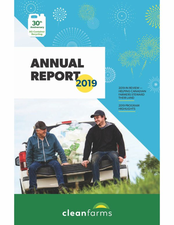 CleanFarms Annual Report