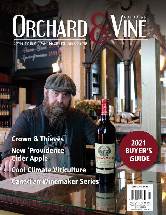 Orchard & Vine Spring 2021 Cover